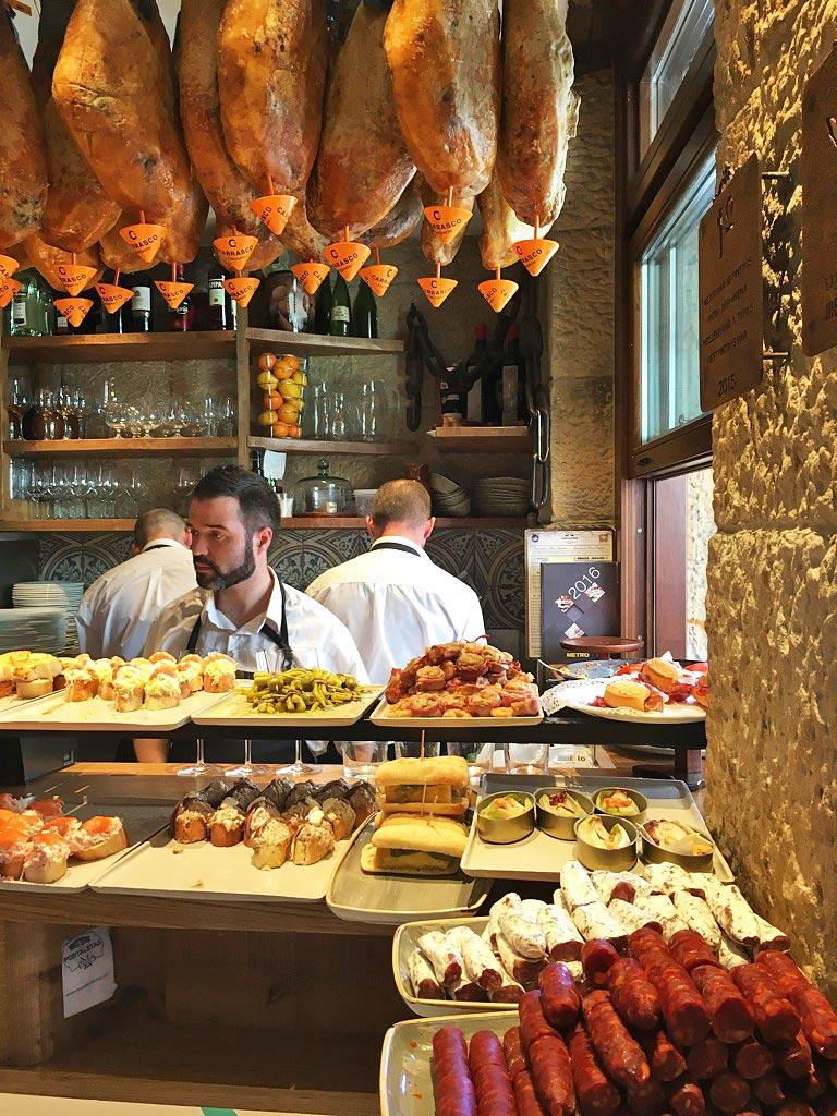pintxos restaurant san sebastian spain