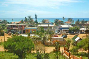 ponta do ouro village view mozambique