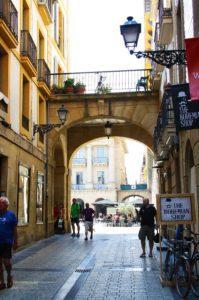 streets donostia san sebastian city spain