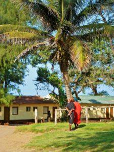 Ponta do Ouro village in Mozambique