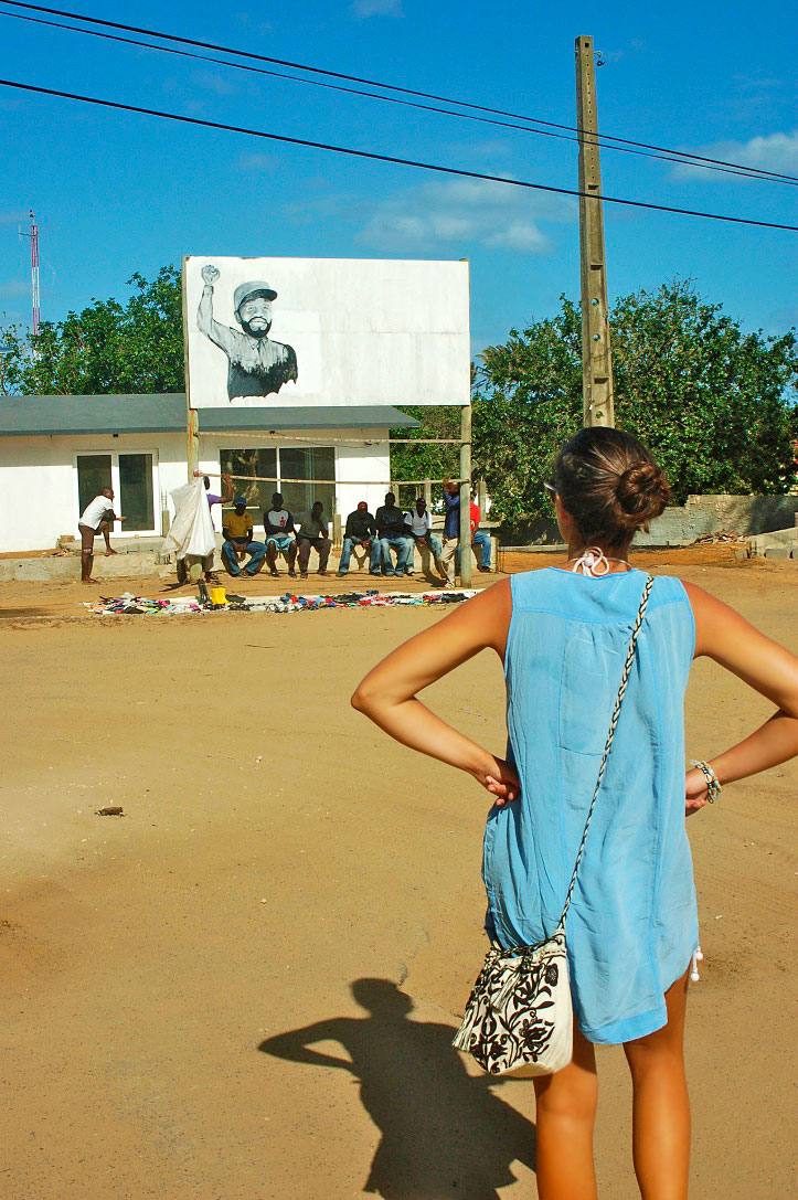 ponta do ouro streets village mozambique