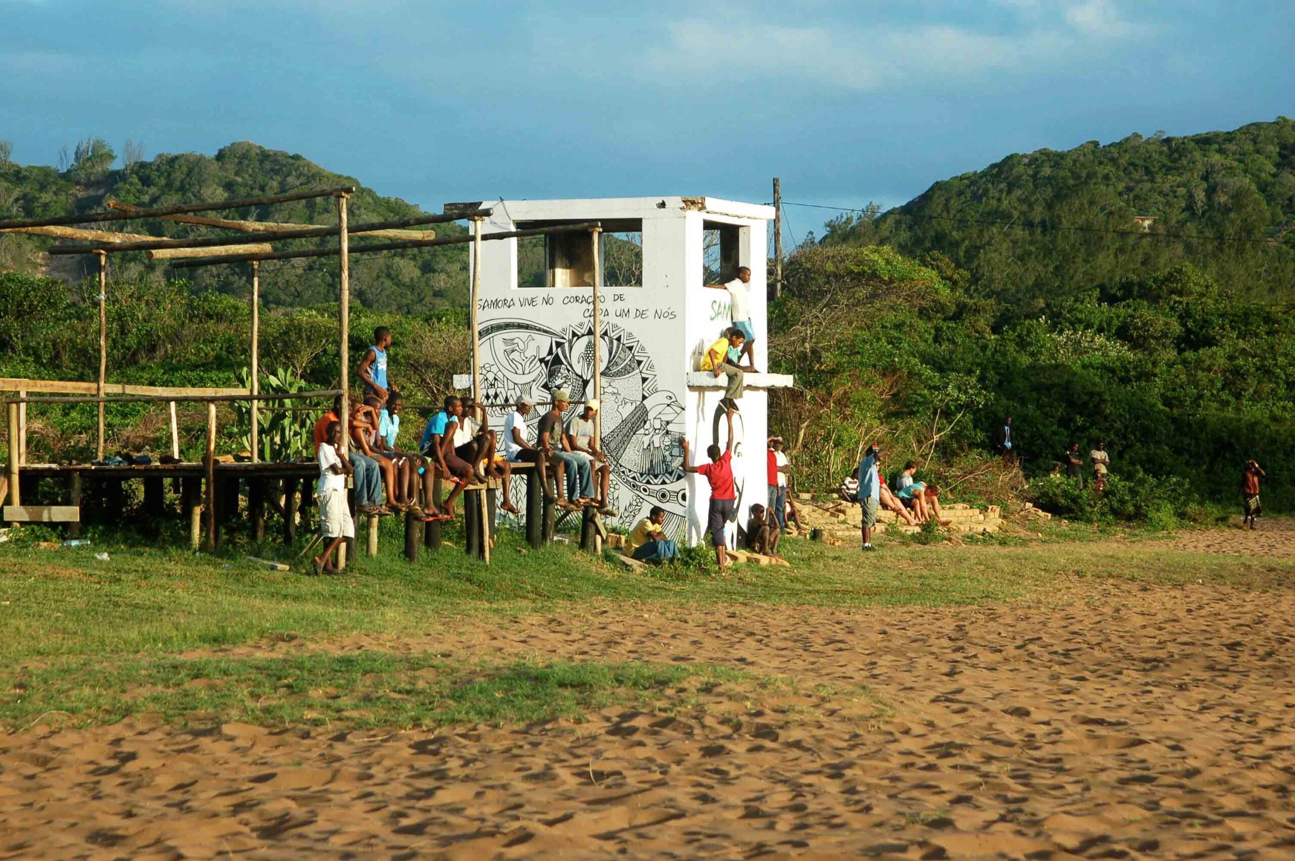 soccer game ponta do ouro mozambique