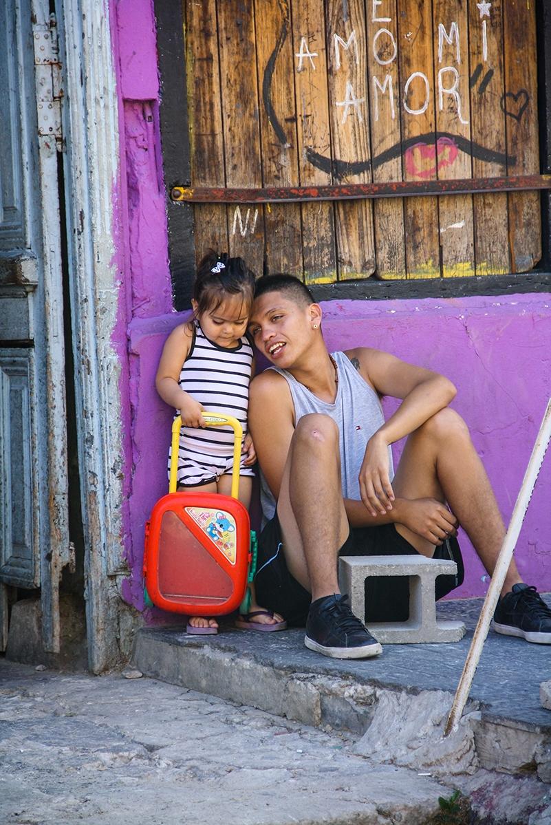 Kids in La Boca Buenos Aires