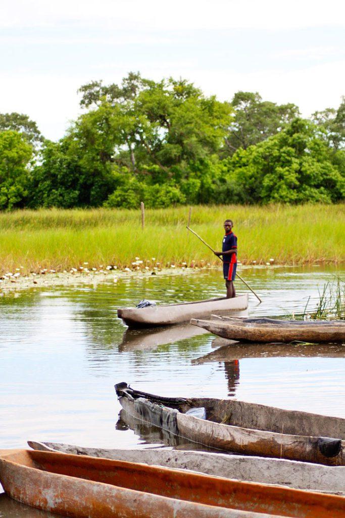 mokoro trip guide okavango delta botswana