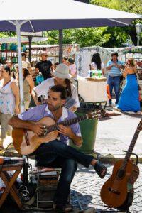 Musician in San Telmo Buenos Aires