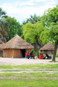 okavango delta village botswana