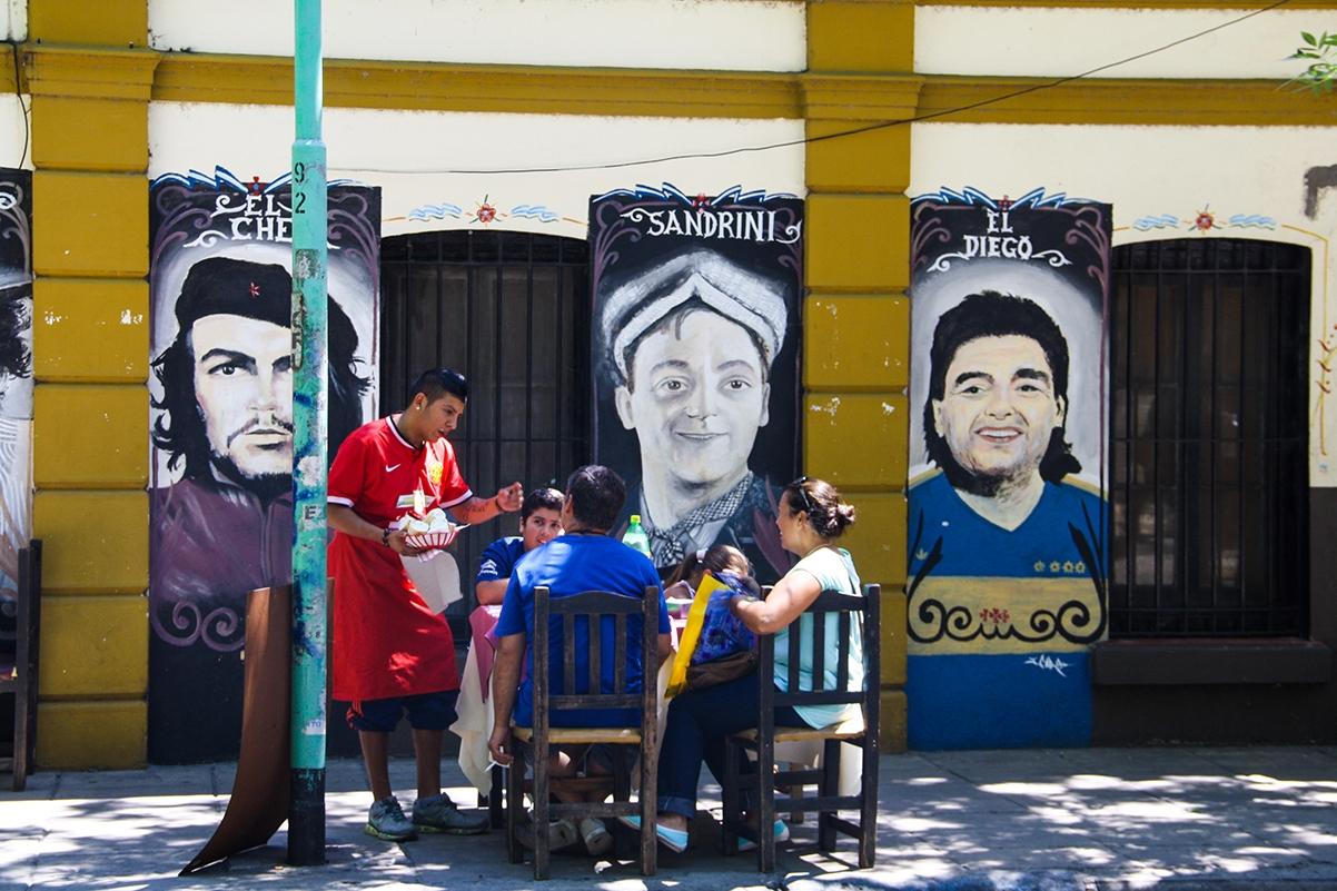 restaurant in La Boca Buenos Aires