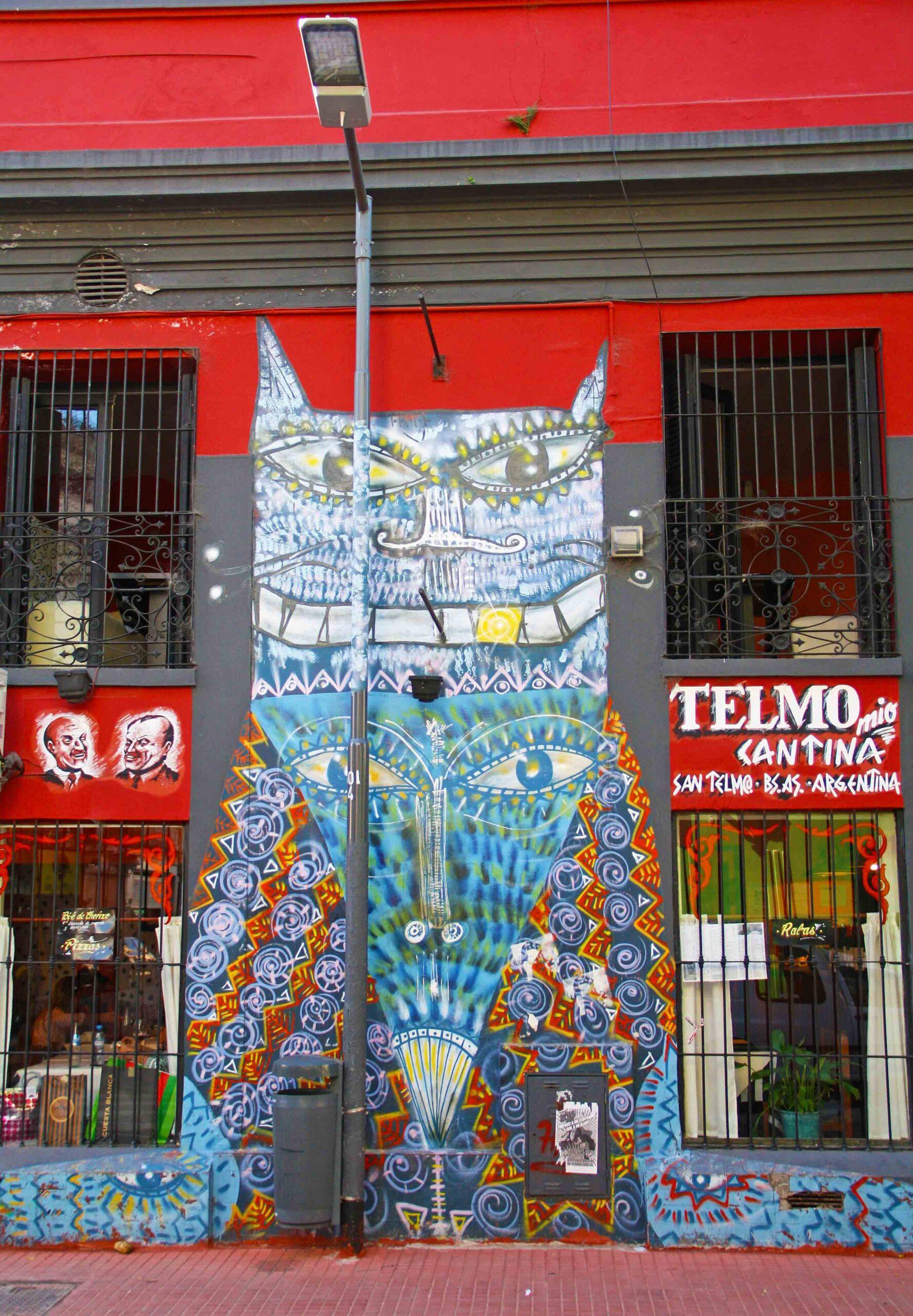 san telmo street art buenos aires