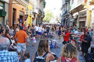 san telmo sunday market street artists buenos aires