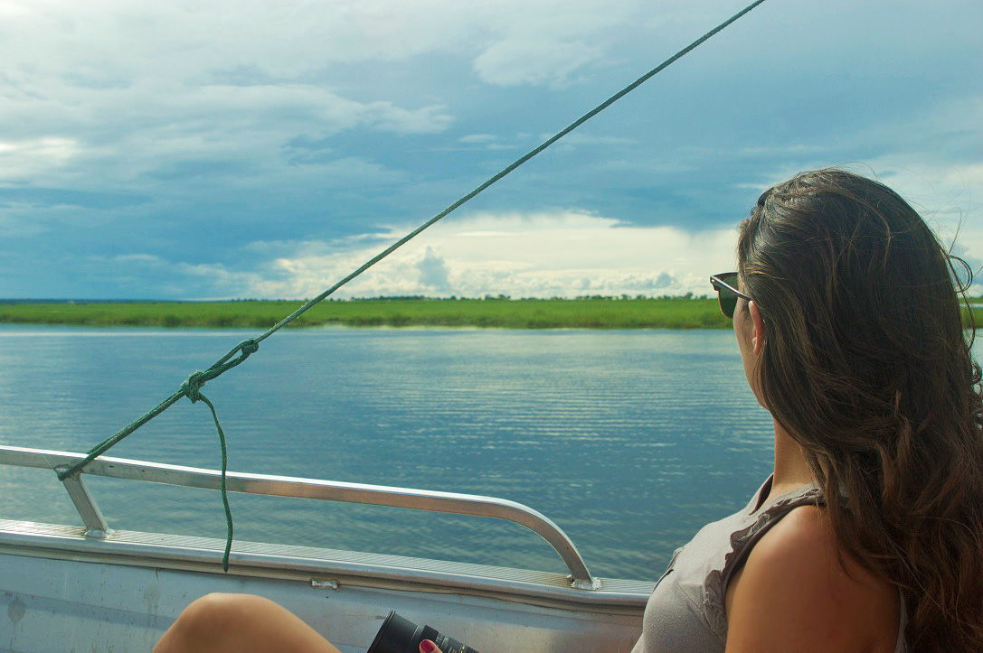 chobe national park river boat trip botswana