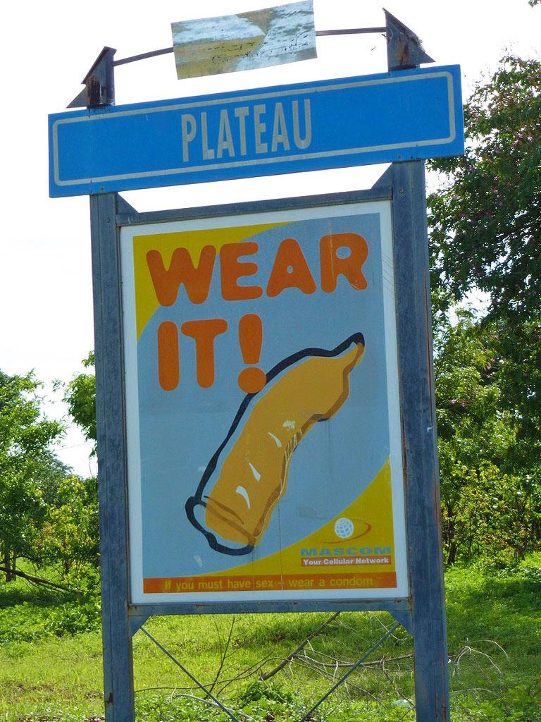safe sex ad chobe national park botswana