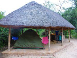 thebe river lodge camping chobe kasane botswana