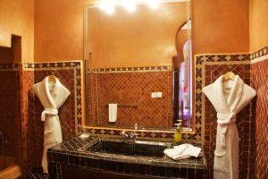 bathroom riad yasmine marrakech morocco