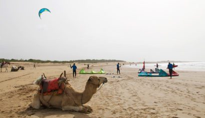 beach kitesurfing windsurfing karma surf retreat essaouira