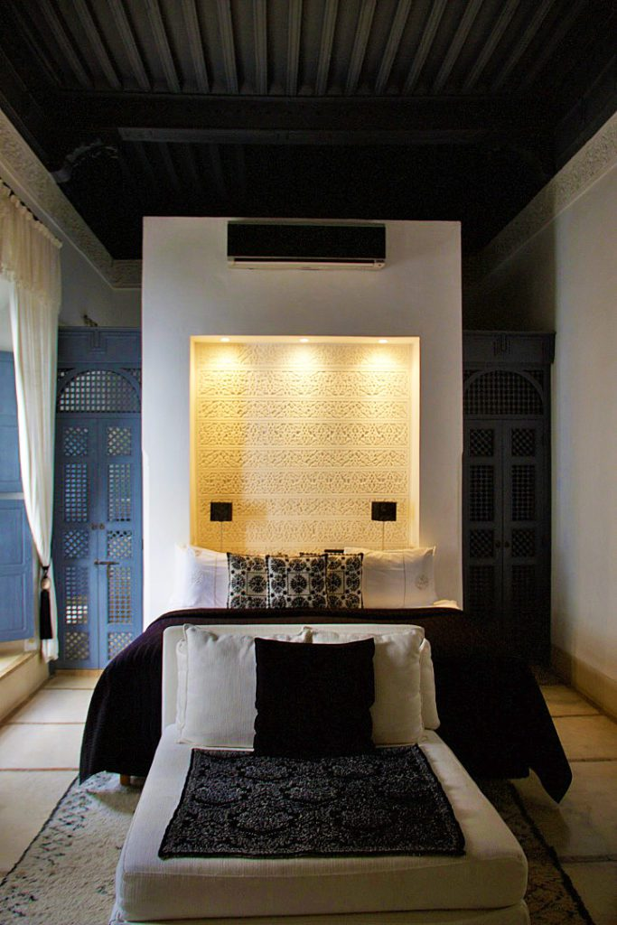 bedroom riad adore marrakech riads morocco