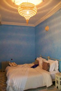 blue room riad be marrakech