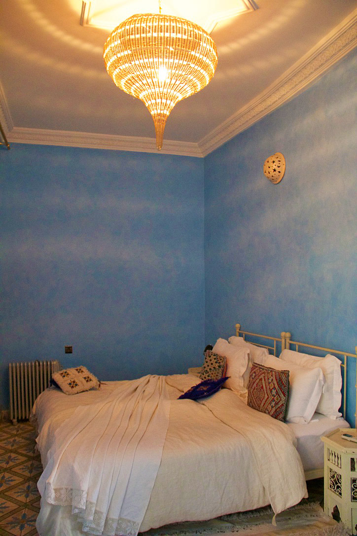 blue room riad be marrakech