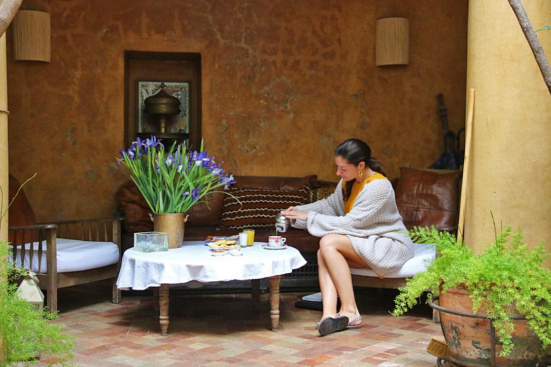 breakfast dar rbaa laroub marrakech riads morocco