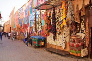 carpets souk medina marrakech morocco
