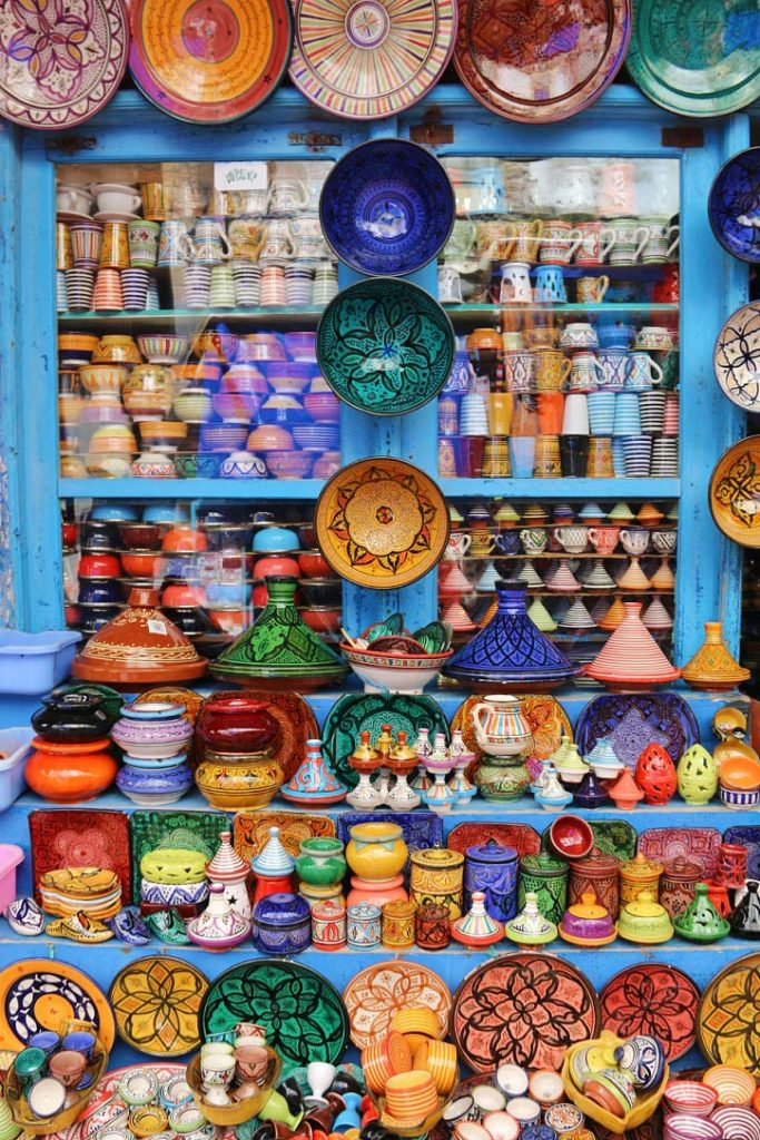 ceramic shop medina essaouira karma surf retreat