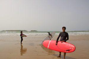essaouira beach karma surf retreat lessons