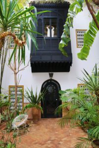 Garden at Dar Rbaa Laroub in Marrakech