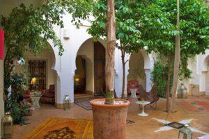 garden riad al massarah marrakech
