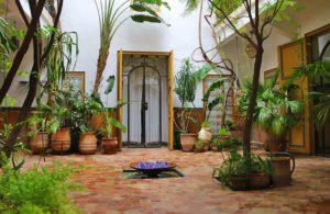 garden riad dar rbaa laroub medina marrakech morocco