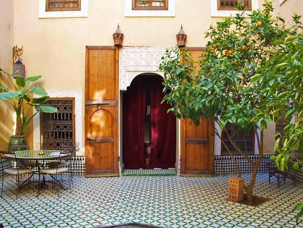 garden riad khol marrakech