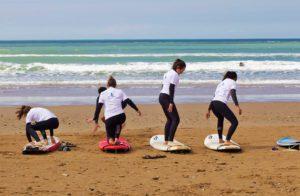 karma surf retreat lesson sidi kaouki beach
