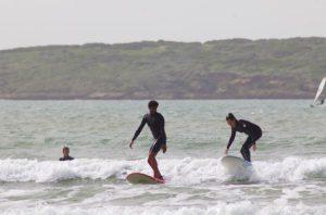 karma surf retreat surfing lesson essaouira