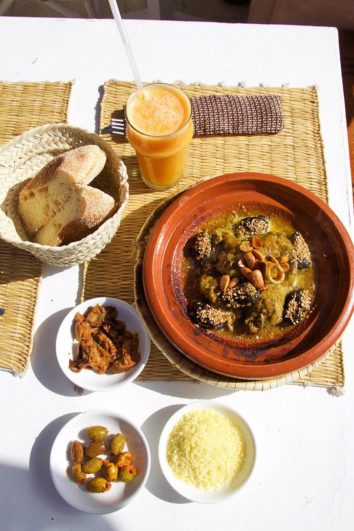 lamb tajine atay cafe marrakech morocco