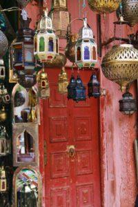 lamp souk medina marrakech morocco