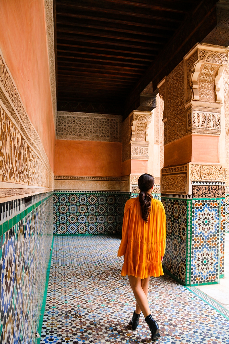 Madrassa Ben Youssef in Marrakech