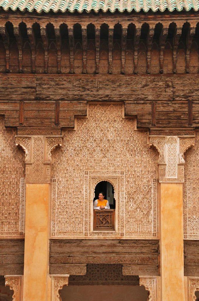 marrakech ben youssef madrasa morocco