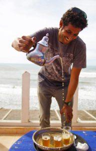 moroccan mint tea karma surf retreat moulay