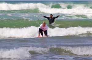 moulay surfing lesson karma surf retreat