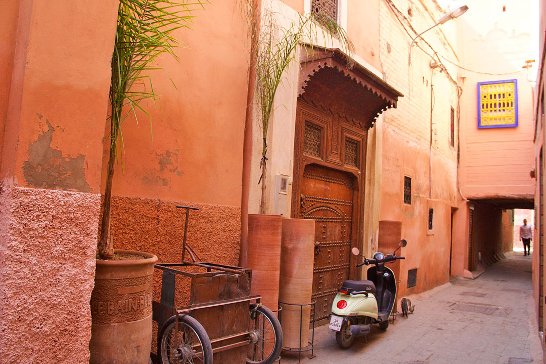 red city marrakech riads morocco