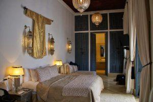 riad adore bedroom marrakech