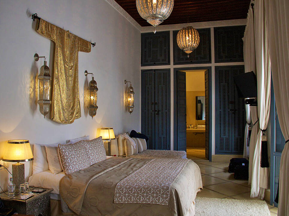 riad adore bedroom marrakech