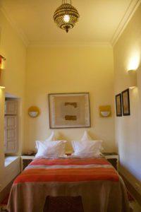 riad al massarah bed room marrakech