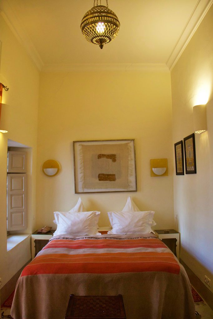riad al massarah bed room marrakech