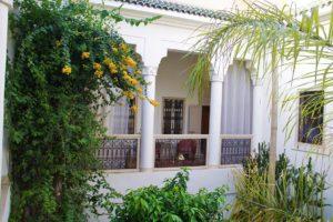 riad al massarah marrakech garden