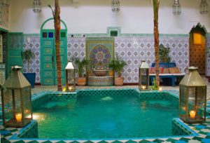 riad be marrakech swimming pool morocco