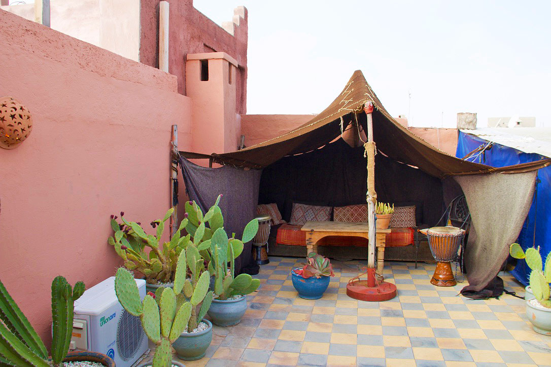 riad be rooftop terrace marrakech morocco