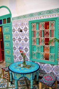 riad be tiles marrakech