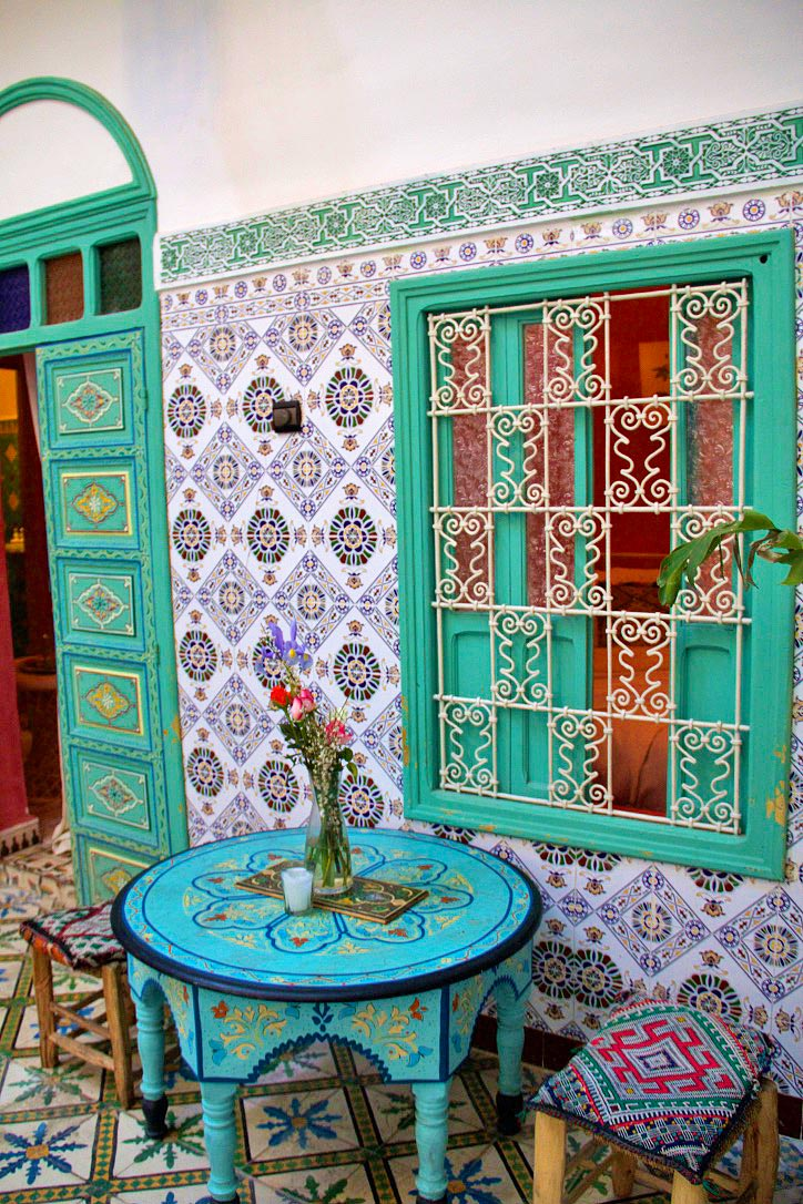 riad be tiles marrakech