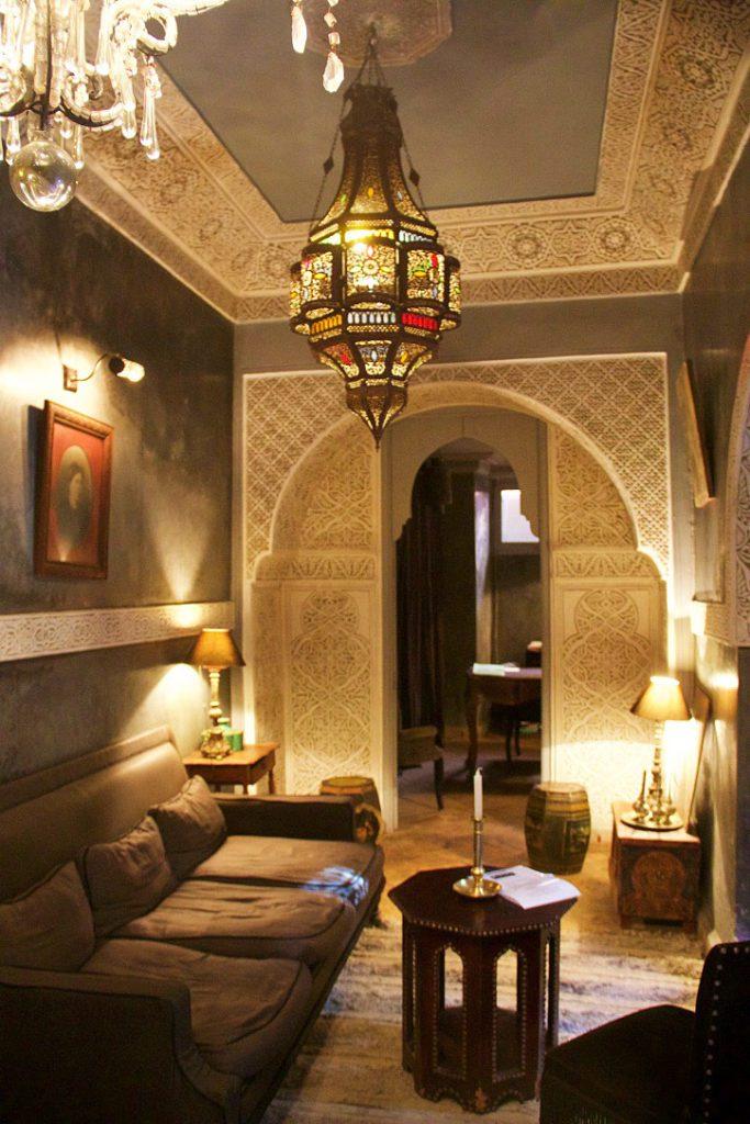 riad khol lobby marrakech riads morocco