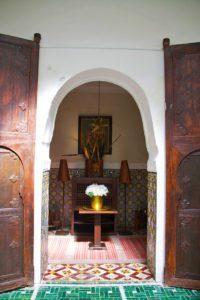 riad vert room marrakech morocco