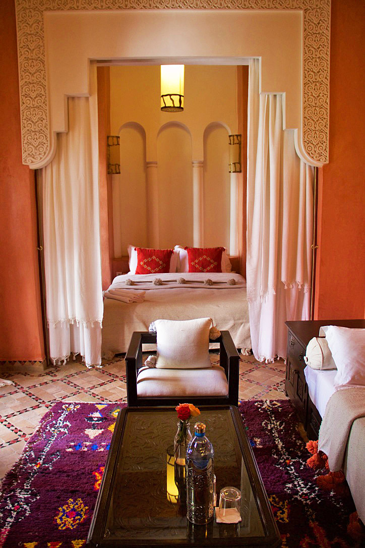 riad yasmine bedroom marrakech